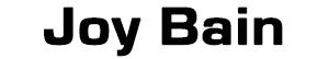Joy Bain Logo